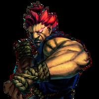 Character select Akuma SFIV