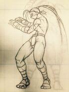Ibuki-early-sf3-sprite-sketch