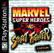 Marvel Super Heroes vs Street Fighter PSX EEUU