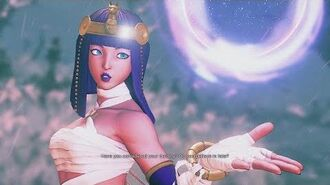 Street Fighter 5 - Menat's Intro, Outro, Taunt, and Critical Art