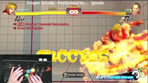 Super Street Fighter 4 Trials - Ken