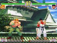 SFIII 3rd Strike - gameplay Alex vs Ryu