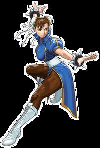 Chun-Li Tatsunoko vs Capcom