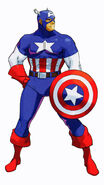 MvCapcom - Clash of Super Heroes - Captain America