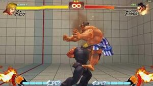 Street Fighter IV Juggle Counter Experimentation - Ken Super to full Ultra