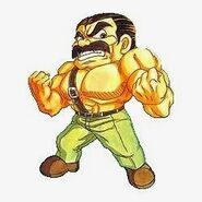 Mighty Final Fight Haggar