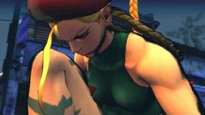 (Super) Street Fighter IV (AE) - Cammy's Rival Cutscene English Ver