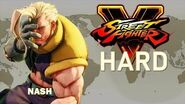 Street Fighter V - Nash Arcade Mode (HARD)