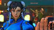 Super Street Fighter IV AE - Chun-li's Alternate Rival Cutscene English Ver