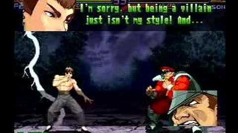 Street Fighter Alpha 3 Fei-Long's Full Storyline and Ending