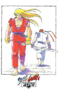 Alpha Poster Ryu and Ken