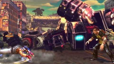 Street Fighter X Tekken PS3 and Vita exclusive characters
