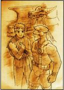 MVC2 Ending-Ryu & Cyclops