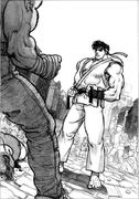 SFII-Ryu fight