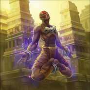 Teppen-Card-Artwork-Dhalsim