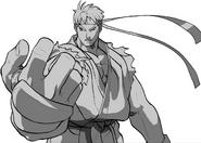 SFA3-Evil Ryu-Win