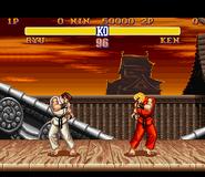 SF2 SNES Ryu Stage