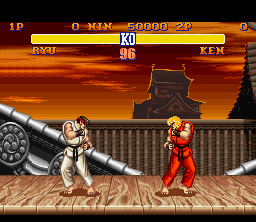 SF2 SNES Ryu Stage