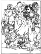 SFII-Rough Illustration