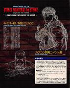 SFIII Gamest.194-Ryu and Alex