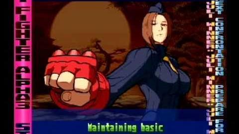 Street Fighter Alpha 3 Juli Full Storyline and Ending (improved quality)