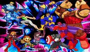 MvCapcom - Clash of Super Heroes - assits characthers clash A