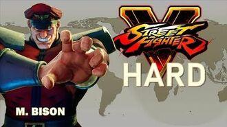 Street Fighter V - M. Bison Arcade Mode (HARD)