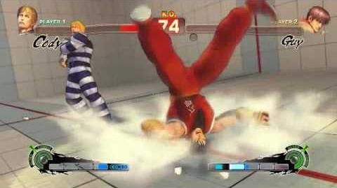Super Street Fighter 4 - Cody Ultra 1 Final Destruction
