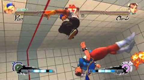 Super Street Fighter 4 AE Yun Ultra 2 Sourai Rengeki