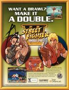 Street Fighter III - Double Impact (Sega Dreamcast flyer)