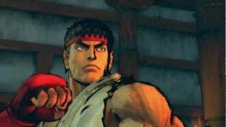 (Super) Street Fighter IV (AE) - Ryu's Rival Cutscene English Ver. (1080p)