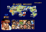 SFII SCE character select