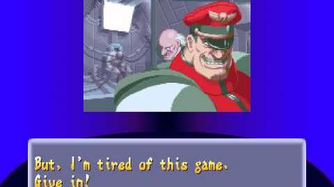 Street Fighter Alpha 2 - Vega Ending