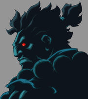 Character Select Akuma by UdonCrew