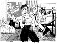 StreetFighterII Lucia Chun-Li Maki Rena