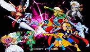 MvCapcom - Clash of Super Heroes - assits characthers clash B