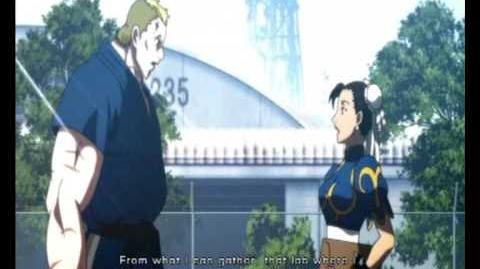 Street Fighter IV - Abel Prologue Ending Movies