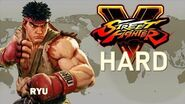 Street Fighter V - Ryu Arcade Mode (HARD)
