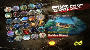 USFIV Mad Gear Hideout select