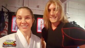 Behind the Scenes of Street Fighter Resurrection with Amy Johnston