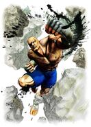 Super Street Fighter IV-Sagat
