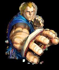 Character select Abel SFIV