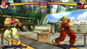 Street Fighter IV early test