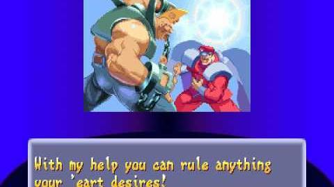 Street Fighter Alpha 2 Birdie Ending