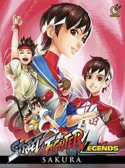 Street Fighter Legends - Sakura hardcover