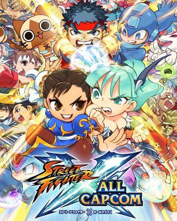 Street Fighter All Capcom Street Fighter Wiki Fandom