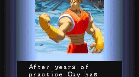 Street Fighter Alpha Guy Ending