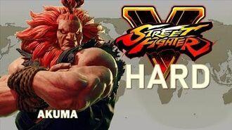 Street Fighter V - Akuma Arcade Mode (HARD)