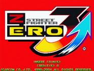 Street Fighter Zero 3 Upper Title Screen
