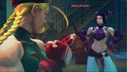 Cammy vs Juri Cammy SFIV Super